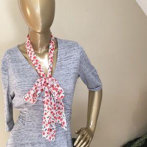 TWO vintage inspired sash ties